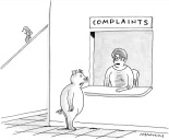 The New Yorker Caption Contest...With A Little Help From Seinfeld
